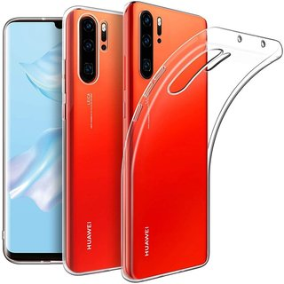 Huawei P30 Pro siliconen achterkant hoesje - Transparant