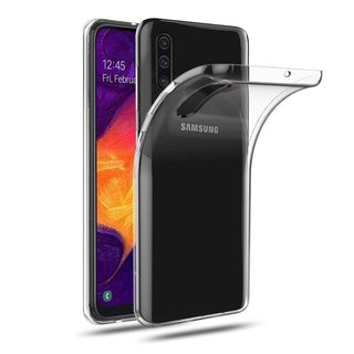 Samsung Galaxy A50 siliconen achterkant hoesje - Transparant