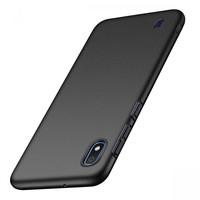 Samsung Galaxy A10  siliconen (gel) achterkant hoesje - Zwart