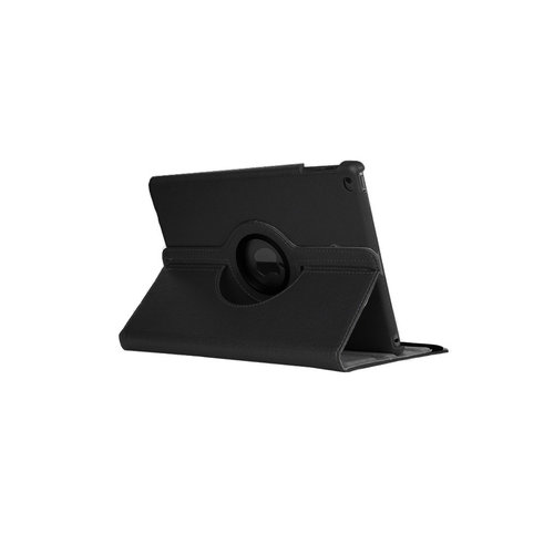 iPad 2017 / 2018 9.7 inch 360° Rotating Case - Roterende Hoes - Zwart