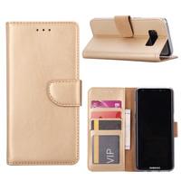 Bookcase Samsung Galaxy S8 Plus hoesje - Goud