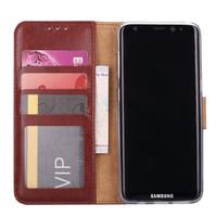 Bookcase Samsung Galaxy S8 Plus hoesje - Bruin