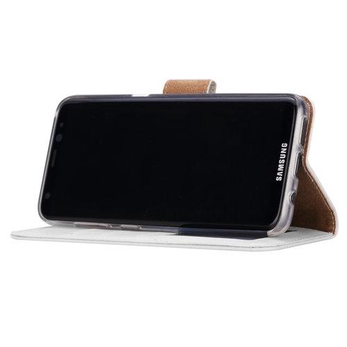 Bookcase Samsung Galaxy S8 Plus hoesje - Wit