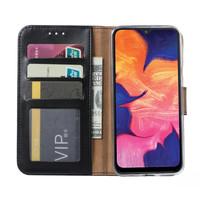 Bookcase Samsung Galaxy A10 hoesje - Zwart