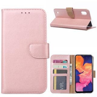 Bookcase Samsung Galaxy A10 hoesje - Rosé Goud