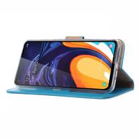 Bookcase Samsung Galaxy A60 hoesje - Blauw