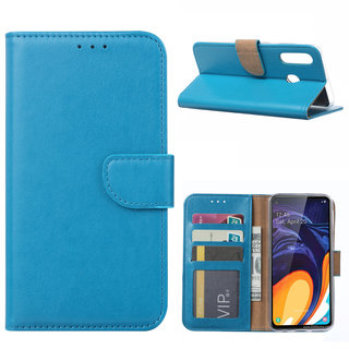 Bookcase Samsung Galaxy A60 hoesje - Blauw