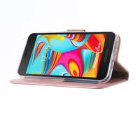 Bookcase Samsung Galaxy A2 Core hoesje - Rosé Goud