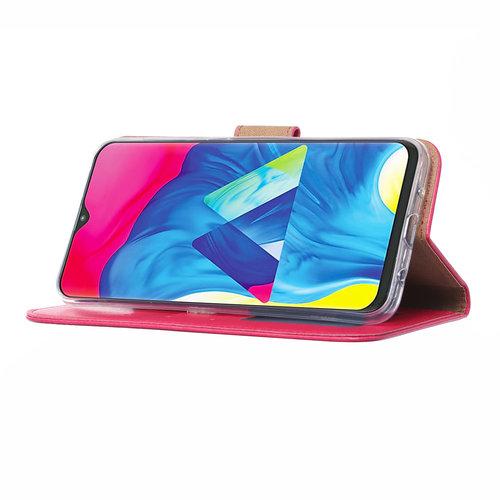 Bookcase Samsung Galaxy M10 hoesje - Roze