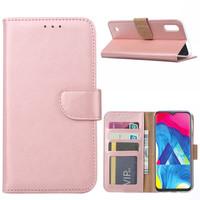 Bookcase Samsung Galaxy M10 hoesje - Rosé Goud