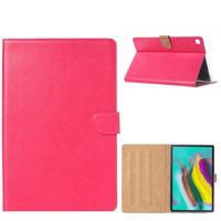 Luxe Lederen Standaard hoes voor de Samsung Galaxy Tab S5e (10.5 inch) - Roze