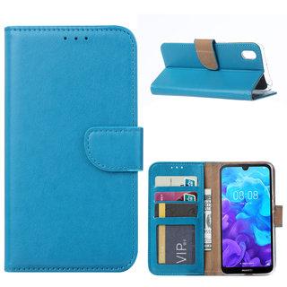 Bookcase Huawei Y5 2019 hoesje - Blauw