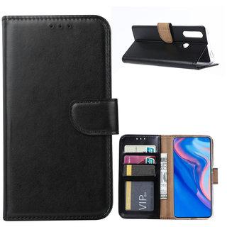Bookcase Huawei P Smart Z hoesje - Zwart