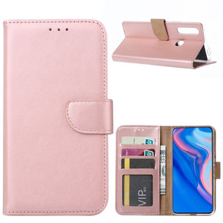 Bookcase Huawei P Smart Z hoesje - Rosé Goud