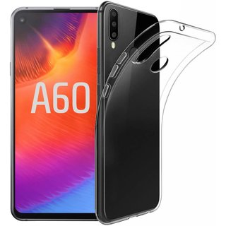 Samsung Galaxy A60 siliconen (gel) achterkant hoesje - Transparant