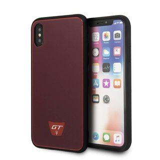 Originele GranSport GT Hardcase Back Cover Hoesje voor de Apple iPhone X / XS - Bordeauxrood
