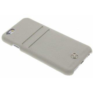 Originele Echt Lederen Back Cover Hoesje voor de Apple iPhone 6 / 6S - Grijs