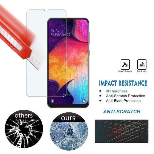 Samsung Galaxy A40 Screenprotector - Glas