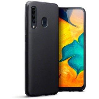 Samsung Galaxy A60 siliconen (gel) achterkant hoesje - Zwart