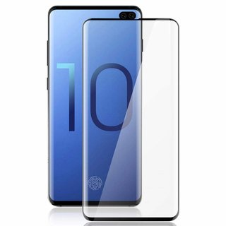 Samsung Galaxy S10 Plus Screenprotector Full Cover - Glas