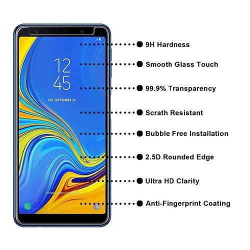Samsung Galaxy A7 (2018) Screenprotector - Glas