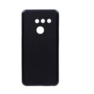 LG G8 ThinQ siliconen (gel) achterkant hoesje - Zwart