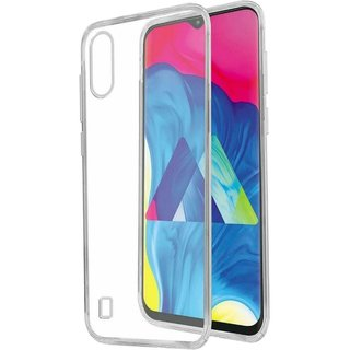 Samsung Galaxy M10 siliconen (gel) achterkant hoesje - Transparant