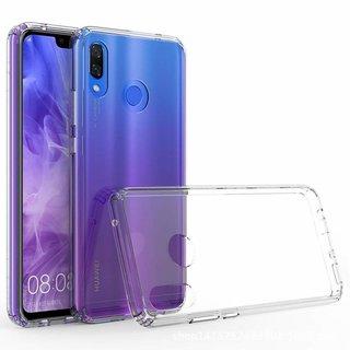 Huawei P Smart Plus (2019) siliconen achterkant hoesje - Transparant