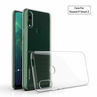 Huawei P Smart Z siliconen achterkant hoesje - Transparant