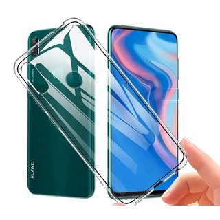 Huawei Y9 Prime (2019) siliconen achterkant hoesje - Transparant