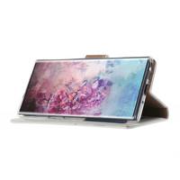 Bookcase Samsung Galaxy Note 10 hoesje - Wit