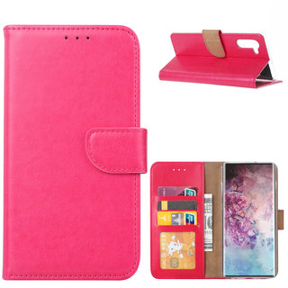 Bookcase Samsung Galaxy Note 10 hoesje - Roze