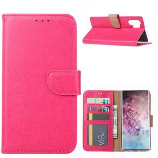 Bookcase Samsung Galaxy Note 10 Plus hoesje - Roze