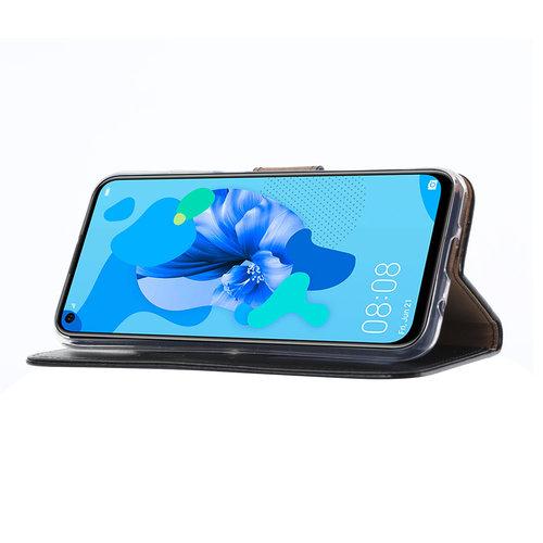 Bookcase Huawei P20 Lite (2019) hoesje - Zwart