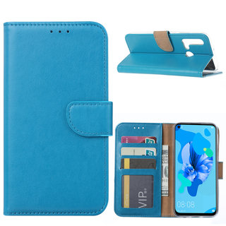 Bookcase Huawei P20 Lite (2019) hoesje - Blauw