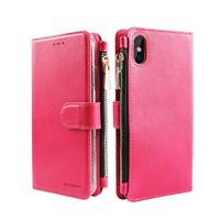 Xssive Portemonnee Case Apple iPhone X hoesje - Roze