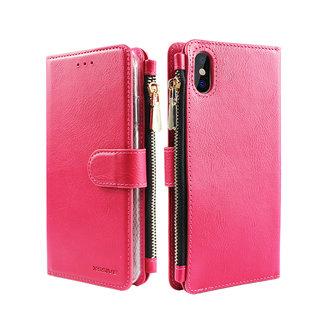 Portemonnee Case Apple iPhone XR hoesje - Roze