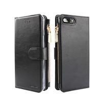 Xssive Portemonnee Case Apple iPhone 8 hoesje - Zwart