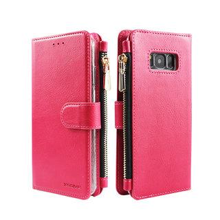 Portemonnee Case Samsung Galaxy S8 hoesje - Roze