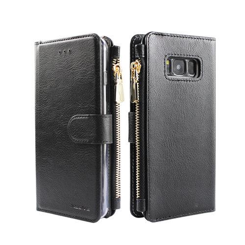 Xssive Portemonnee Case Samsung Galaxy S8 hoesje - Zwart