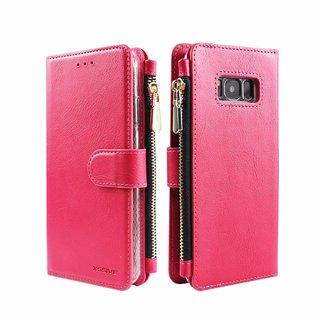 Portemonnee Case Samsung Galaxy S8 Plus hoesje - Roze