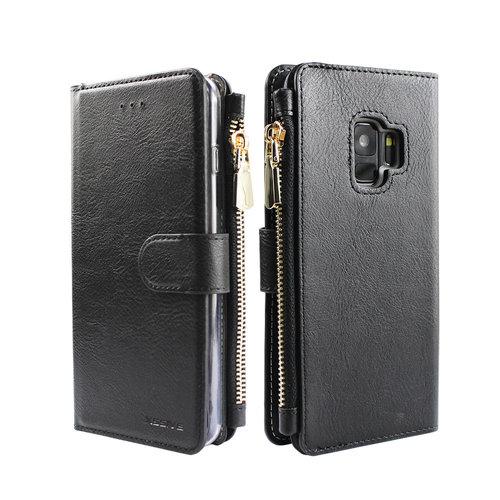 Xssive Portemonnee Case Samsung Galaxy S9 hoesje - Zwart