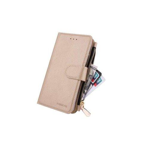 Xssive Portemonnee Case Samsung Galaxy A70 hoesje - Goud