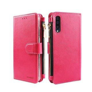Portemonnee Case Samsung Galaxy A70 hoesje - Roze