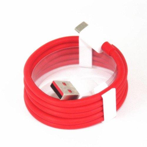 OnePlus 3 / 3T / 5 / 5T / 6 Originele Oplader met Dash 4A Adapter en 1 meter USB Type-C Dash kabel