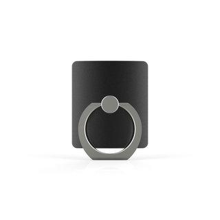 Telefoon Ring houder / Ring standaard universeel - Zwart