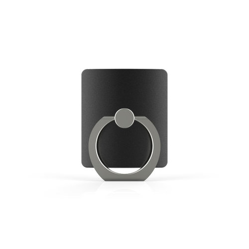 Xssive Telefoon Ring houder / Ring standaard universeel - Zwart