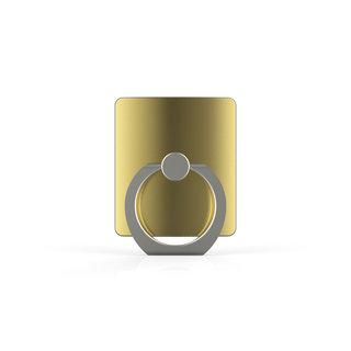 Telefoon Ring houder / Ring standaard universeel - Goud