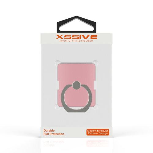 Xssive Telefoon Ring houder / Ring standaard universeel - Rosé Goud