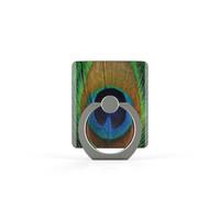 Xssive Telefoon Ring houder / Ring standaard universeel - Pauw print